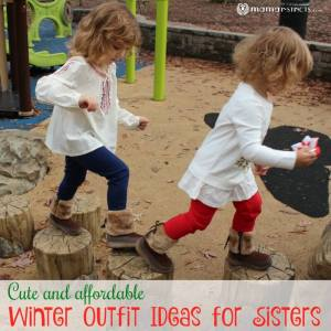 Cute and Affordable Winter Outfit Ideas for Sisters