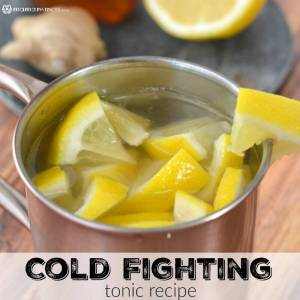 Cold Fighting Tonic Recipe