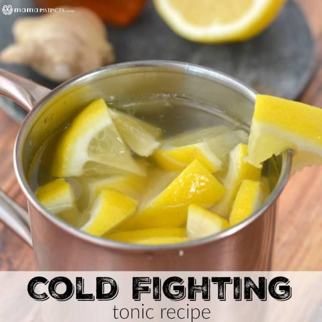 Cold Fighting Tonic Recipe