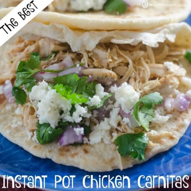 Instant Pot Chicken Carnitas Recipe