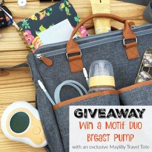 Giveaway: Win a Motif Duo Breast Pump