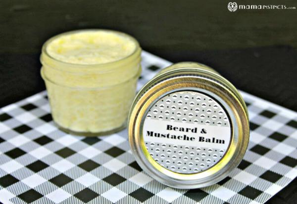 DIY Mustache and Beard Conditioning Balm Recipe – Mama