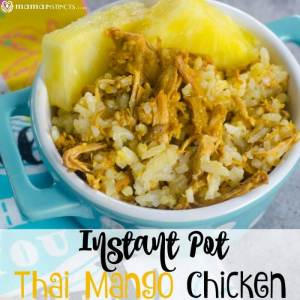 Instant Pot Thai Mango Chicken