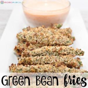 The Best Baked Green Bean Fries Recipe