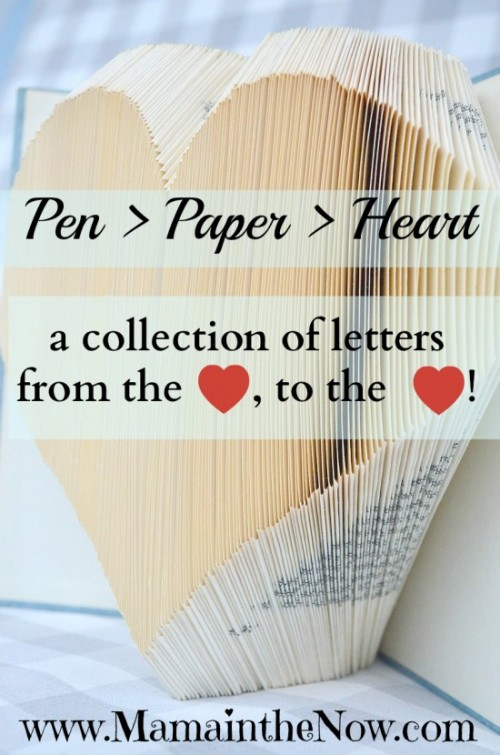 A collection of letters from the heart - to the heart!