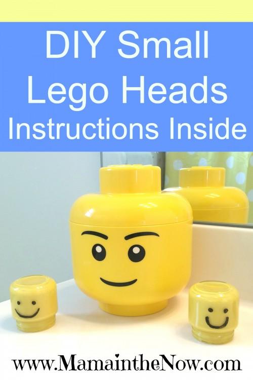 DIY Small Lego Heads