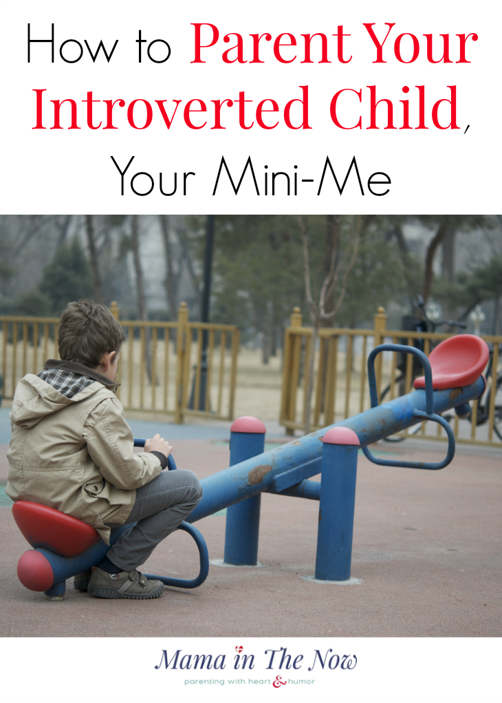 How to parent your introverted child, your mini-me. This mother of four boys shares her positive parenting approach to helping her quiet and shy boy. Click to read how she does it.