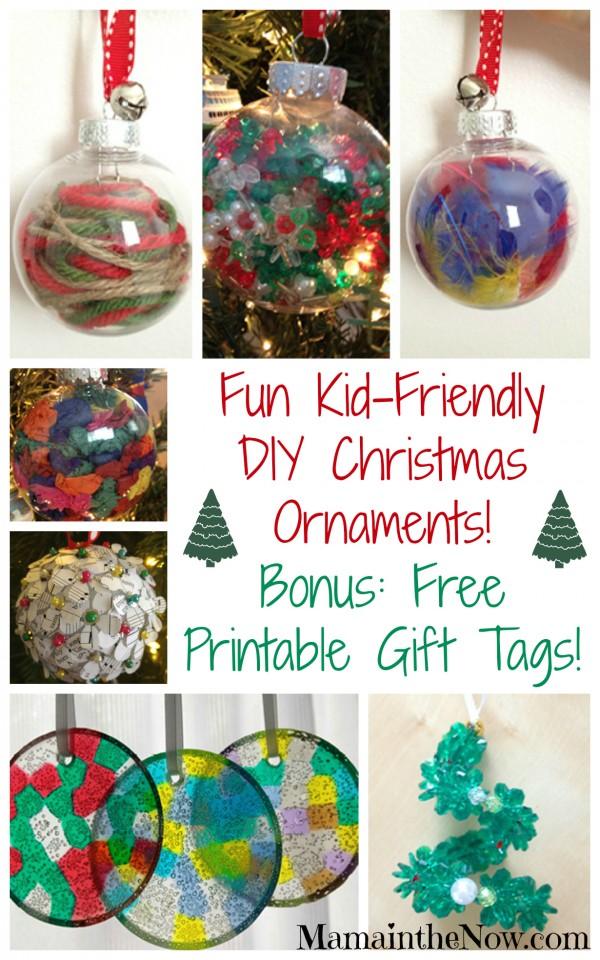 Fun Kid-Friendly DIY Christmas Ornaments