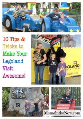 Ten Tips and Tricks to Make Your LEGOLAND Visit Awesome!