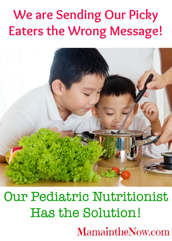 We are sending our picky eaters the wrong message