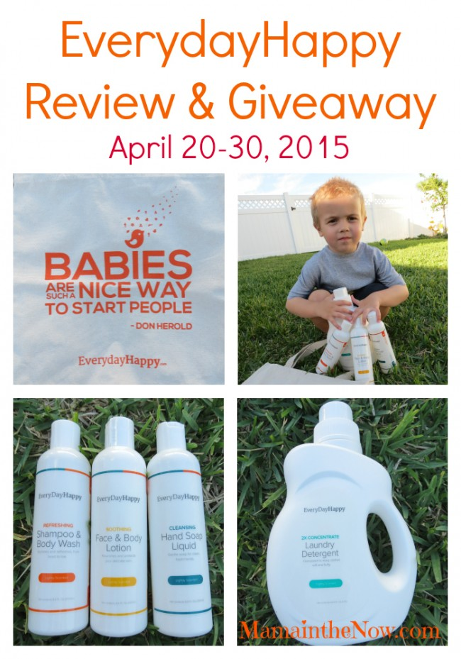 EverydayHappy Review & Giveaway