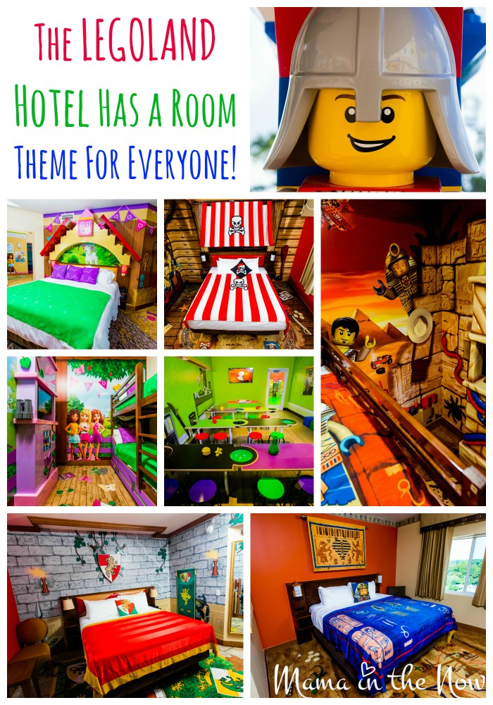 The LEGOLAND Hotel rooms have themes for everyone in your party. Read the rest of this article to see the rest of the stunning pictures.