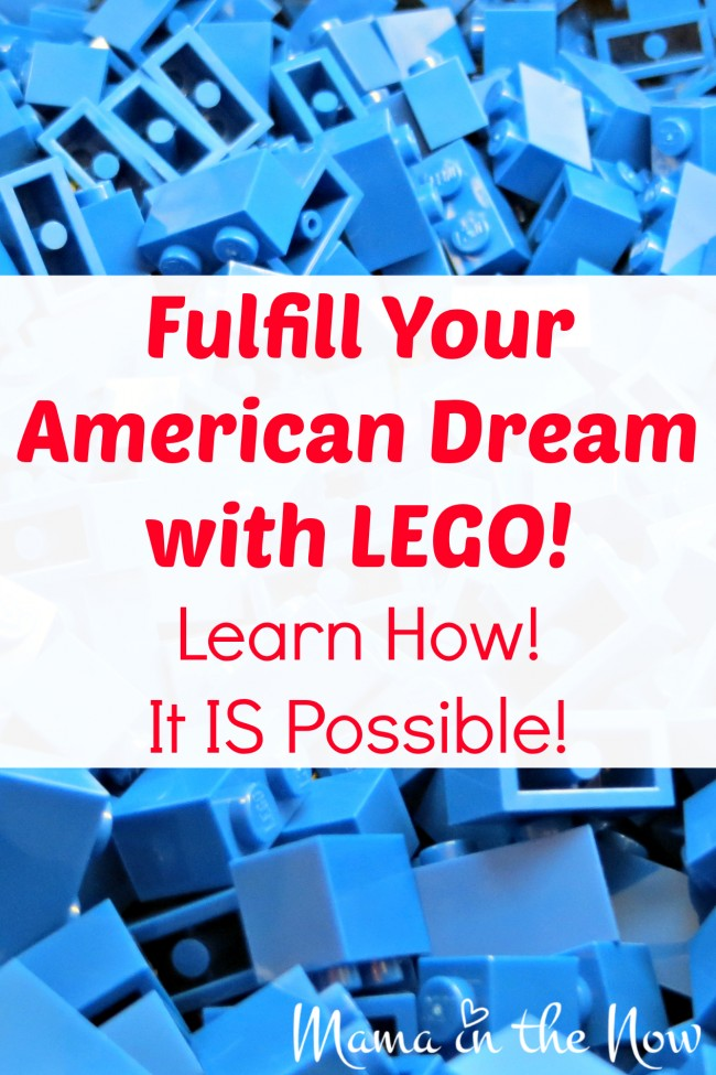 Fulfill your American dream with LEGO! Learn how - the possibilities ARE endless! Anything is possible with LEGO! #LEGOMakerNation