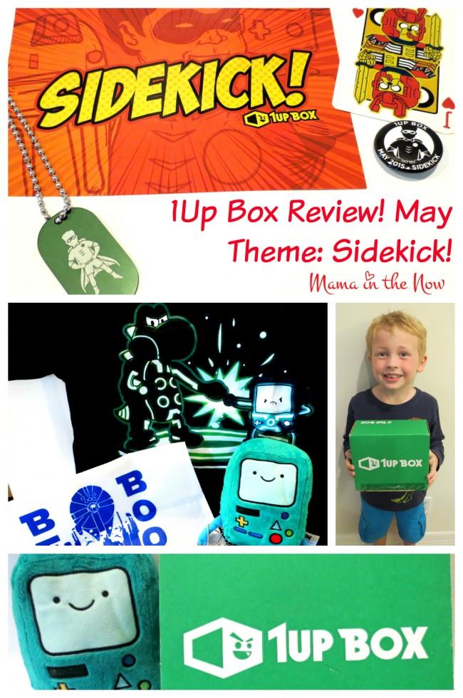 1Up Box Review & Epic Unboxing by Jordan. Theme: SideKick!