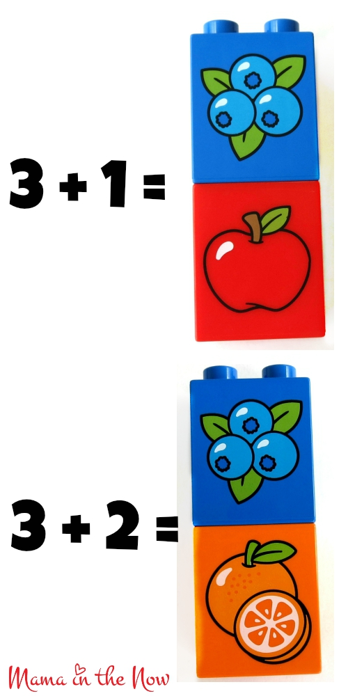 DUPLO Math Flash Card