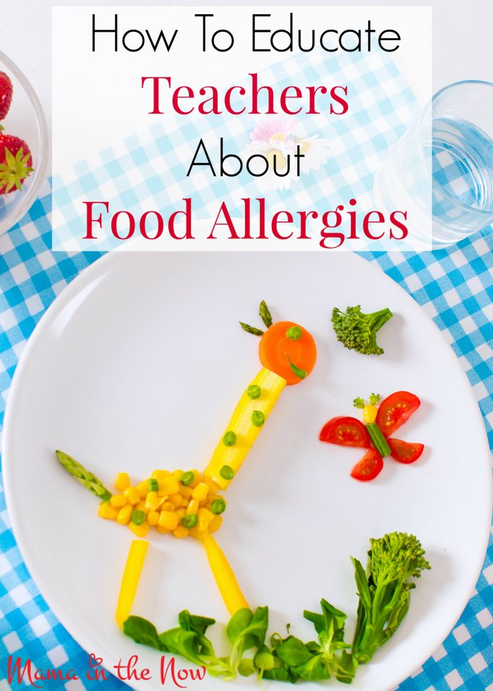 This comprehensive guide to educate teachers about food allergies will give you confidence to send your child to school safely.