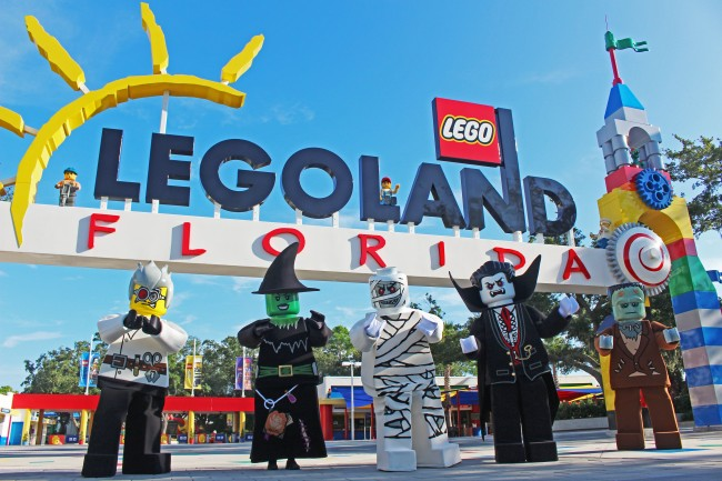 Brick or Treat at LEGOLAND Florida Resort 2015! Have a Bricktacular Time! Read about it at Mama in the Now!