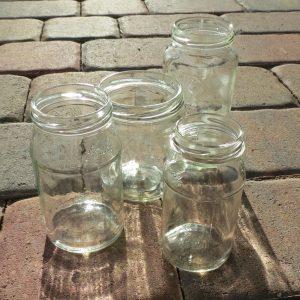 empty jars