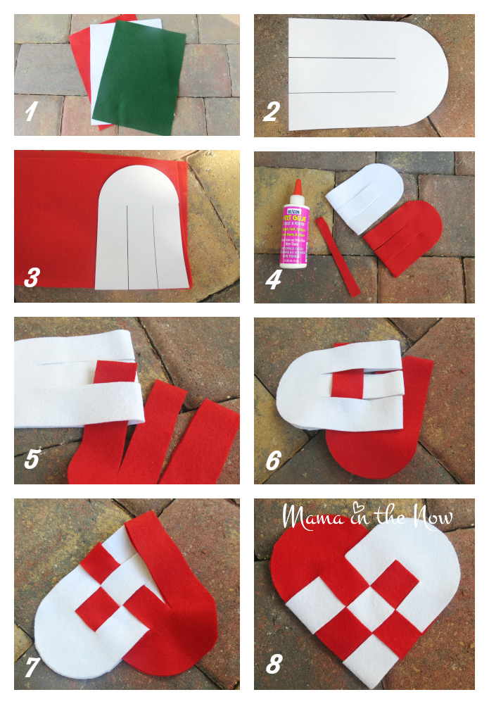 diy danish christmas heart craft