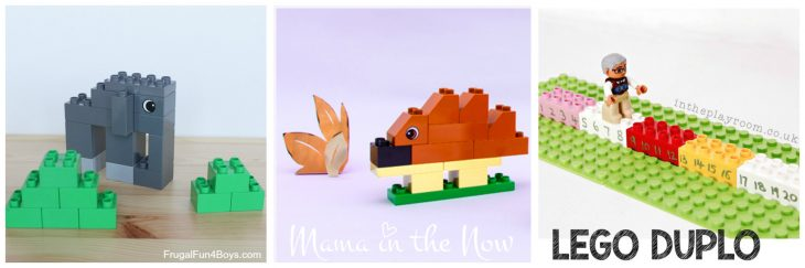 LEGO DUPLO animal building instructions. Easy for kids and adults. Lots of learning opportunities, fun with free-play and creativity.