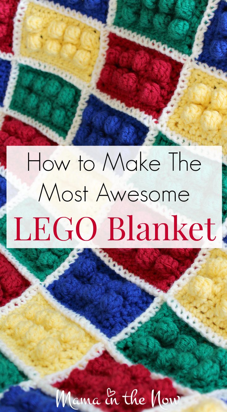 How To Make The Most Awesome Lego Blanket