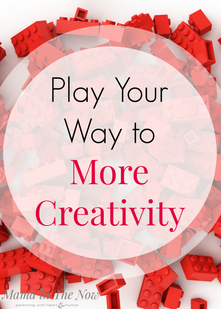 Play your way to more creativity. Tips and ideas from LEGO for adults and children to become more creative.