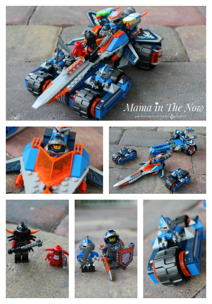 """""""Clay's Rumble Blade"""" LEGO® NEXO KNIGHTS set reviewed by the experts."""