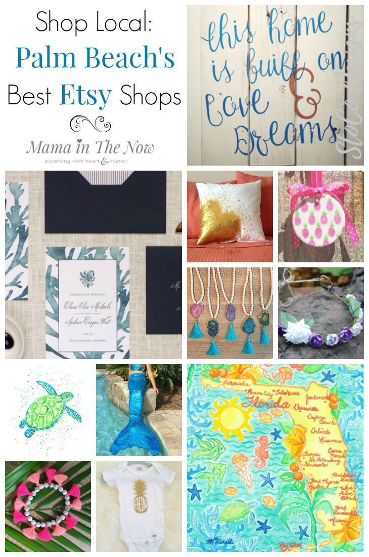 Shop local. This list gives you the best ETSY shops Palm Beach has to offer. Shop Small in South Florida with these incredible hidden secrets.