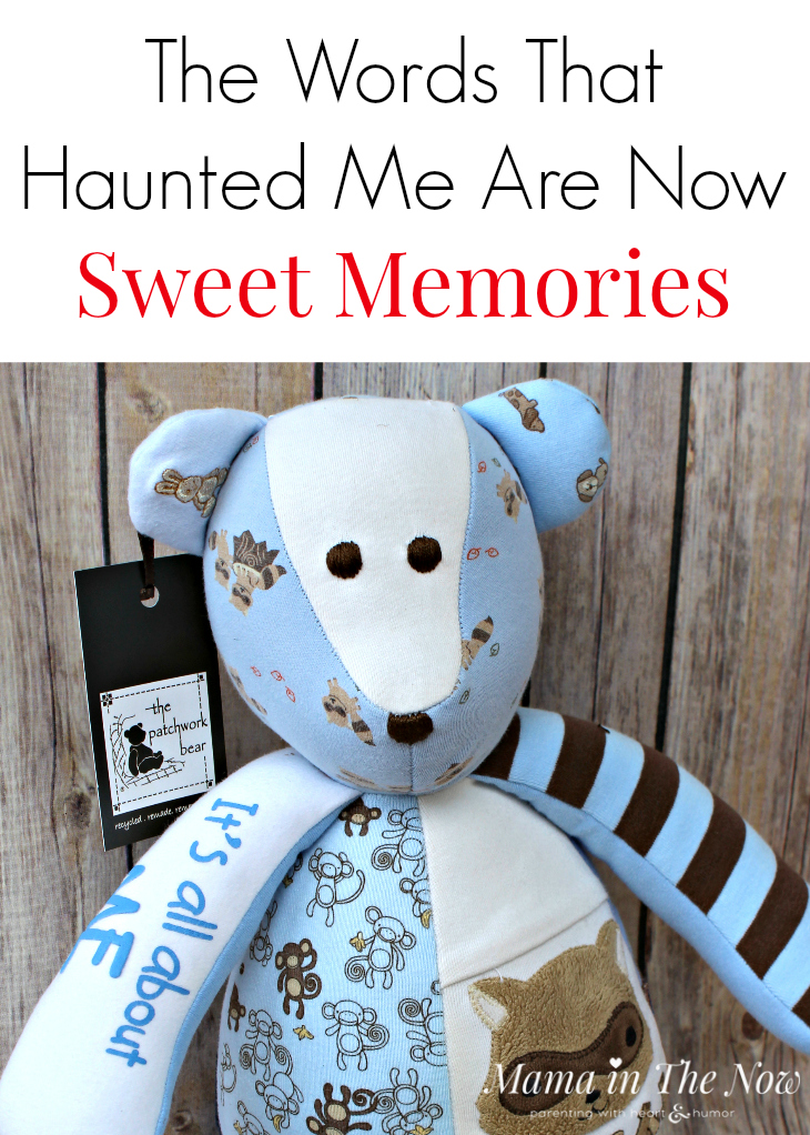 Baby clothes, concert shirts, childhood clothes and wedding dresses can once and for all turn into happy memories. The Patchwork Bear is the perfect gift for mothers, special needs families and grandparents.