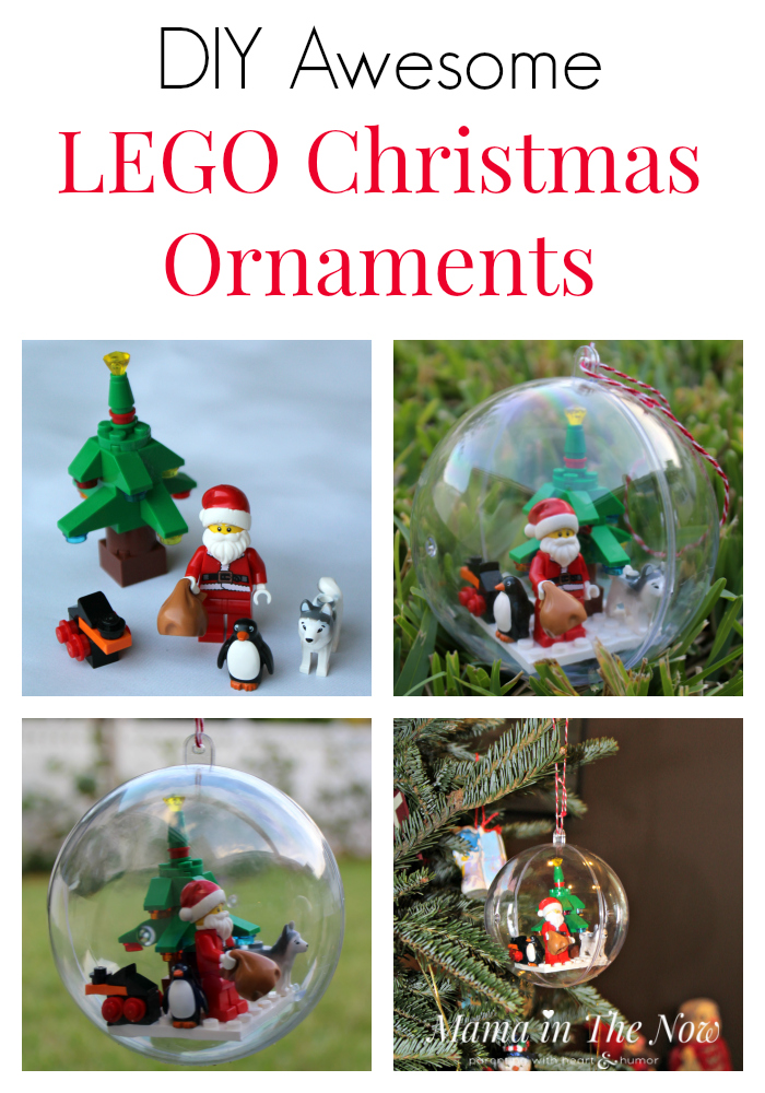 Diy Awesome Lego Christmas Ornaments