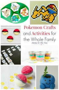 Pokemon crafts and activities for kids of all ages. Have Pokemon fun with the whole family. DIY Pokemon gifts, Pokemon snacks, Pokemon paper crafts, Pokemon LEGO ideas and Pokemon learning activities.
