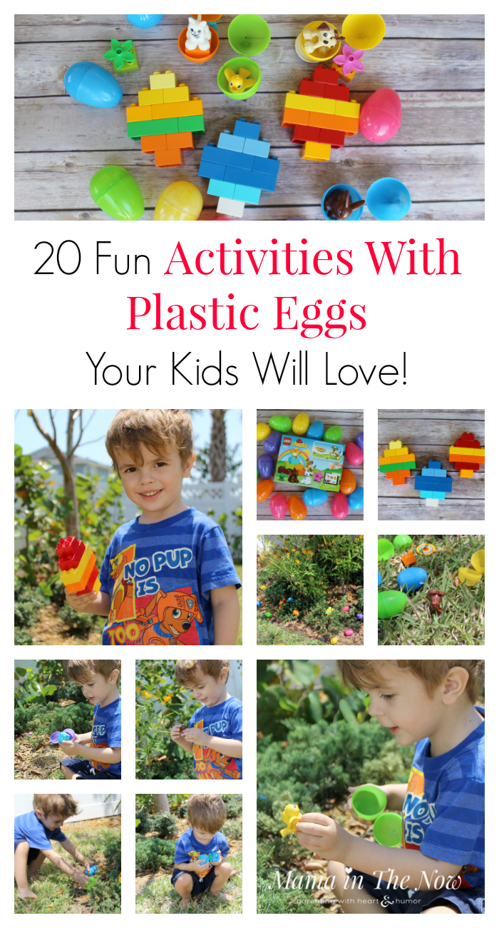 DUPLO Easter egg hunt for toddlers, learn to count, color recognition, work your toddler's fine motor skills as well as his gross motor skills. Easter egg hunt with LEGO DUPLO
