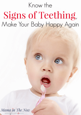 Learn the Eight Signs of Teething!