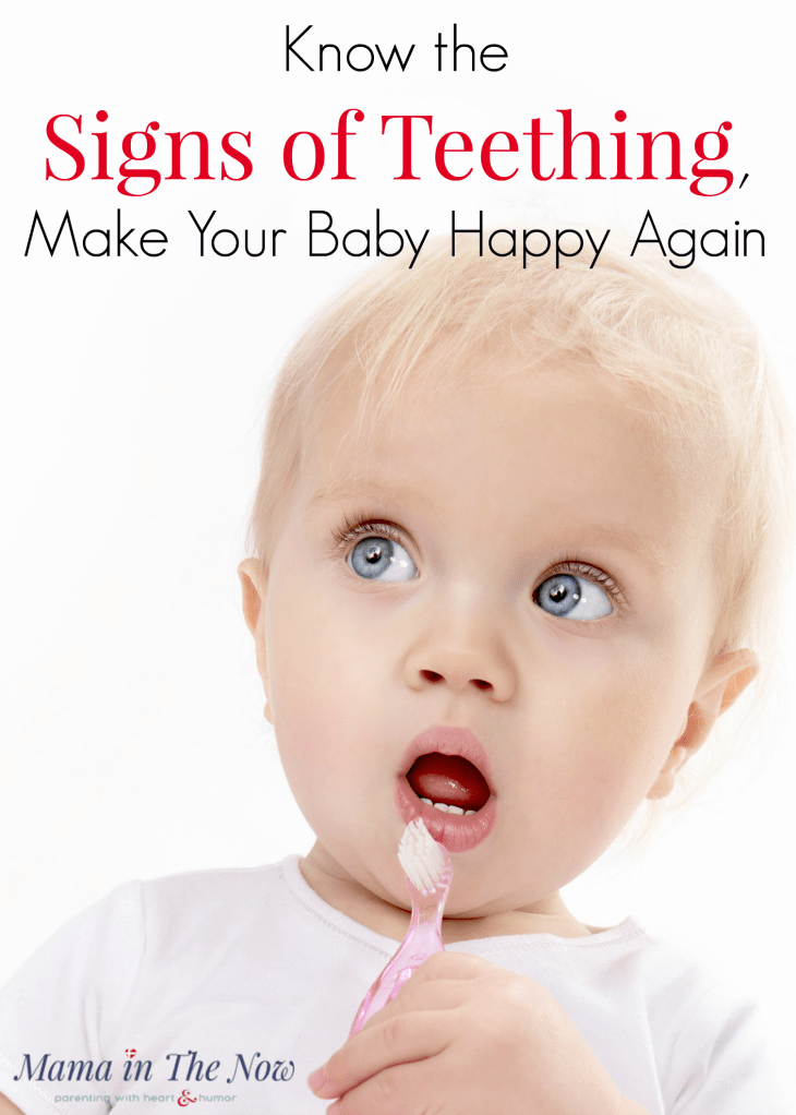 Learn the 8 signs of teething so you can calm your baby. Drooling infants f910c4590d