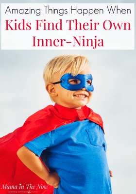 Every child has an inner ninja. When they find it on their own, watch the magic that unfolds. Special kids, super powers. Encouragement and empowerment for special kids. #SpecialNeeds #SuperKids