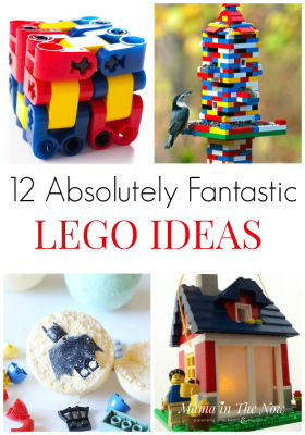 12 Absolutely Fantastic Lego Ideas. Creative LEGO ideas, ways to use LEGO around the house. LEGO uses in the home. LEGO ideas for older kids. #LEGO #LEGOIdeas #LEGOMom #LEGOFun #AFOL #MamaintheNow