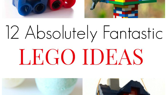 12 Absolutely Fantastic LEGO Ideas
