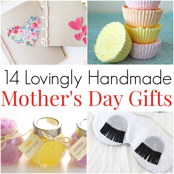 14 Handmade Mother's Day Gifts