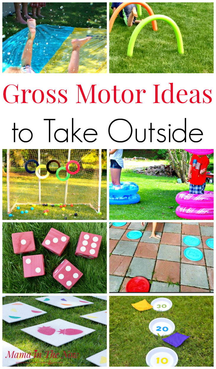 Gross Motor Ideas To Take Outside