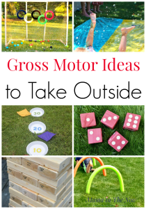 Outdoor Gross Motor Activities. Gross motor skills ideas. Creative ways for your kids to work their gross motor skills. Outdoors summer activities for kids of all ages. #grossmotor #grossmotoractivities #grossmotorskills #grossmotorforkids #summerfun #funforkids #mamainthenow