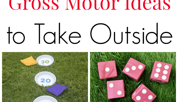 14 Gross Motor Ideas to Take Outside