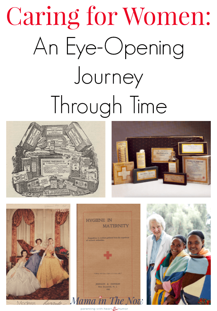 Caring for women, an eye-opening journey through time. Medical advances that directly affect women have been led by Johnson and Johnson for over 130 years. #ad #JNJHistory #DiscoverJNJ #Medicine #WomensHealth