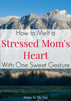 Stressed moms and overwhelmed moms are never good in a family. Calm mom, help her through motherhood with this sweet and simple gesture. It doesn't take much to have a happy wife. #HappyWife #Motherhood #MarriageWin #ParentingWin #MamaintheNow