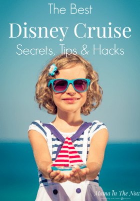 Disney family cruise traveling tips, hacks and secrets from a veteran Disney travel agent. Make the most of your Disney experience. Disney Cruise tips. #DisneyCruiseTips #Disney #DisneyCruise #DisneyCruiseHacks #DisneySecrets #DisneyCruiseSecrets #CruiseTips #MamaintheNow #TipsForTravelingWithKids