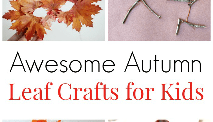 Awesome Autumn Leaf Crafts For Kids