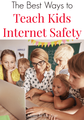 Best ways to teach kids internet safety. Keep kids safe online. Online safety tips for kids. Internet safety tips for kids. Teaching kids online safety. #MamaintheNow #SaferInternetDay #BeInternetAwesome #Sponsored