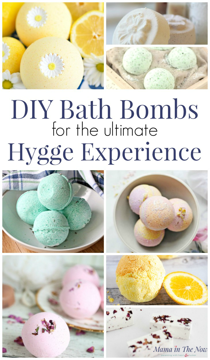 Learn how to make bath bombs for the best hygge bath experience, perfect for self care for mothers. DIY bath bomb recipes for a cozy and relaxing experience. #BathBombs #DIYBathBombs #TeacherGifts #selfcare #Motherhood #SurvivingMotherhood #SelfCare #mamainthenow