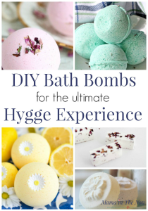DIY bath bombs for the ultimate hygge experience. Self care in form of hygge with bath bombs you made. These make perfect hygge gifts for teachers and anyone in need of hygge and self care. Enjoy self care with these beautiful bath bombs. DIY bath bombs. #BathBombs #DIYBathBombs #HyggeBath #HyggeExperience #HyggeHome #SelfCare #MamaintheNow #Motherhood