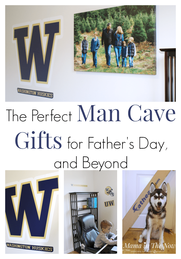 When you need Father's Day gift ideas, look no further than here. The perfect man cave gifts for Father's Day, your husband's birthday and of course Christmas. Shop in one place and get everything you need for Father's Day. Man cave decor for every budget. #ManCave #FathersDay #ManCaveGifts #ManCaveDecor #FathersDayGifts #Fathead #Ad
