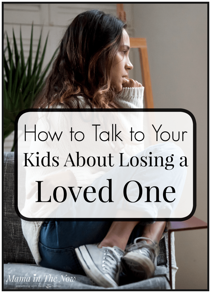 Teens and grief. How to talk to your tweens and teens about losing a loved one. Parenting tips for tweens and teens. #Grief #Talkaboutdeath #parentingtweens #Parentingteens #parentingafterdeath #LosingaLovedOne #explainingDeath #mamaintheNow